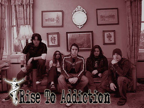 rise to addiction, UK, metal, Band